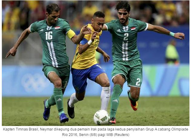 Hasil Lengkap dan Klasemen Cabang Sepak Bola Olimpiade Rio 2016