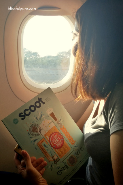 Scoot 787 Dreamliner Manila to Singapore Flight