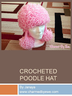 http://charmedbyewe.com/free-crochet-pattern-poodle-hat-costume/