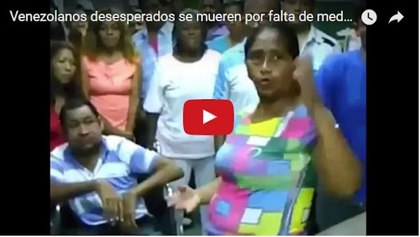 Venezolanos desesperados graban un video pidiendo ayuda médica