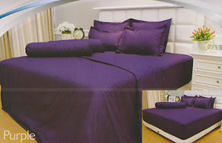 sprei Internal Vallery Purple