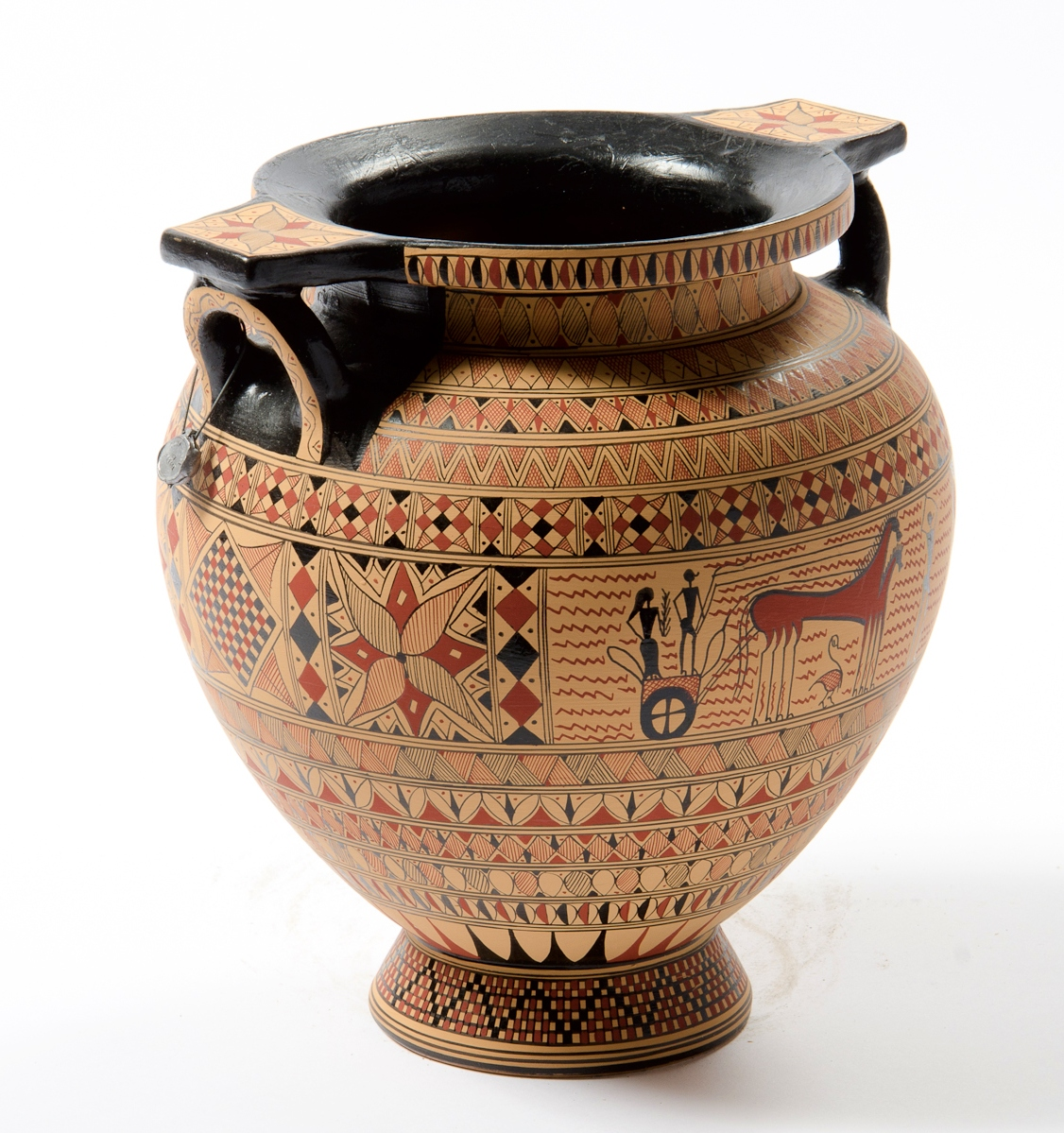 According to BRASWELL: Greek Vases