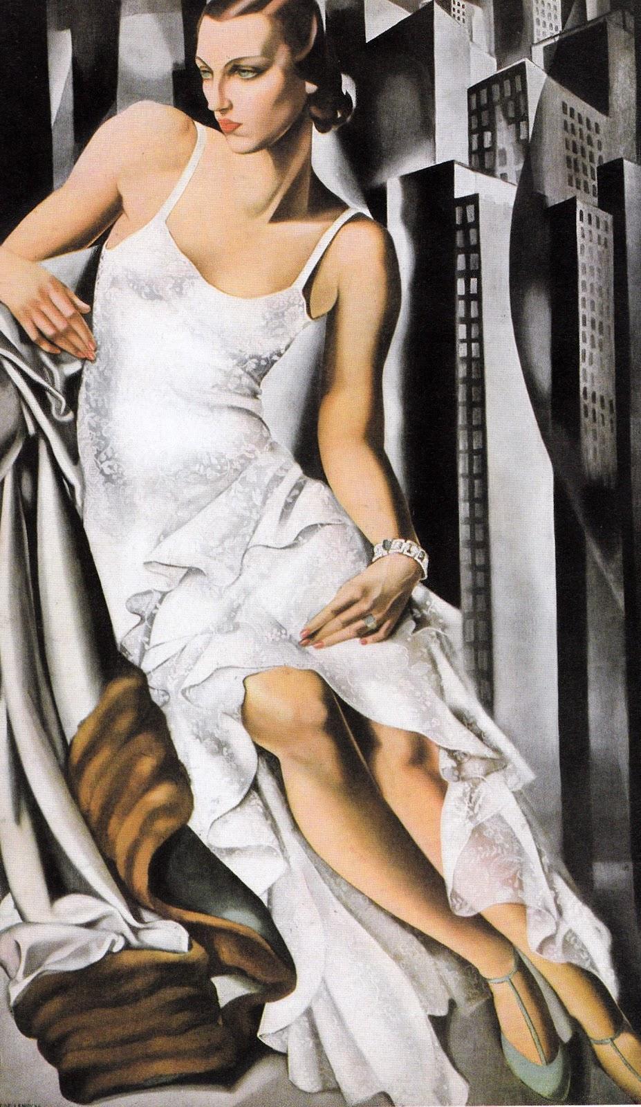 Tamara de Lempicka Portrait of Mrs. Alan  ott