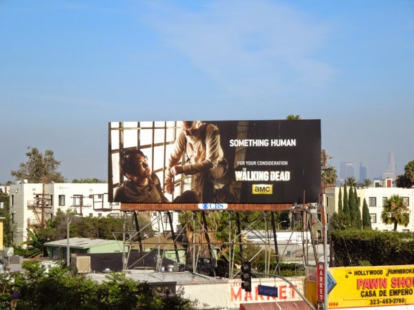 Walking Dead Something Human Glenn Hershel Emmy 2014 billboard