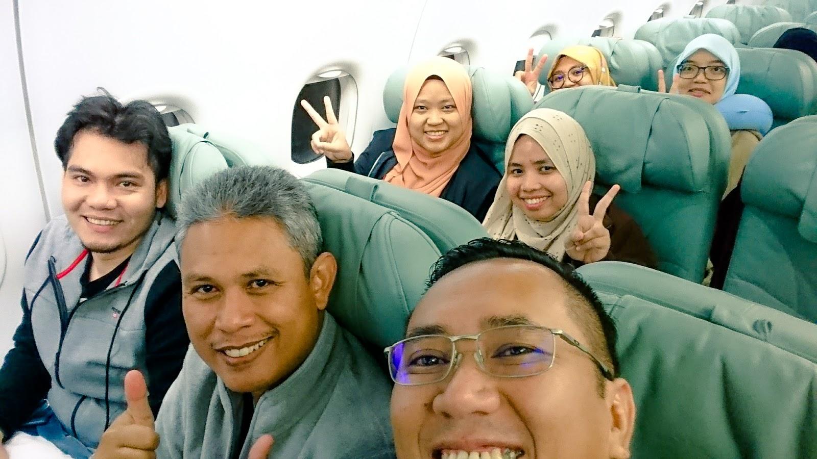 Dari Kuala Lumpur Hingga Ke Munich - Saudia