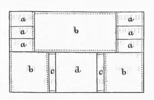 Шкатулка из картона с отделениями