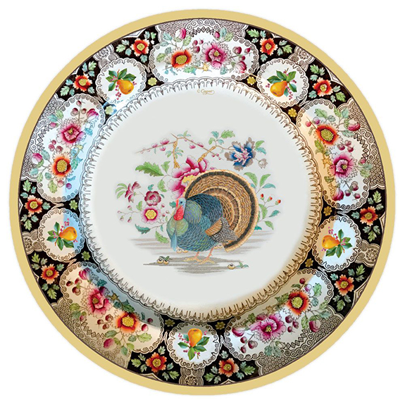These are the prettiest paper Thanksgiving dinner plates I\u0027ve seen \u2013 perfect for those of you who do not want to spend their post-turkey coma doing the ...  sc 1 st  Petite Haus & Thanksgiving Dinner Plate Selections! - Petite Haus
