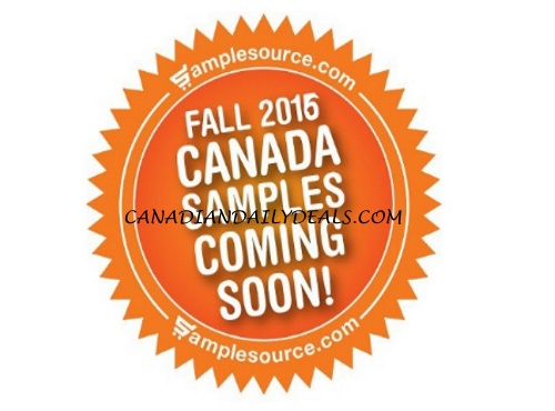 Samplesource Fall 2016 Free Sampler Packs Sneak Peek Sunday