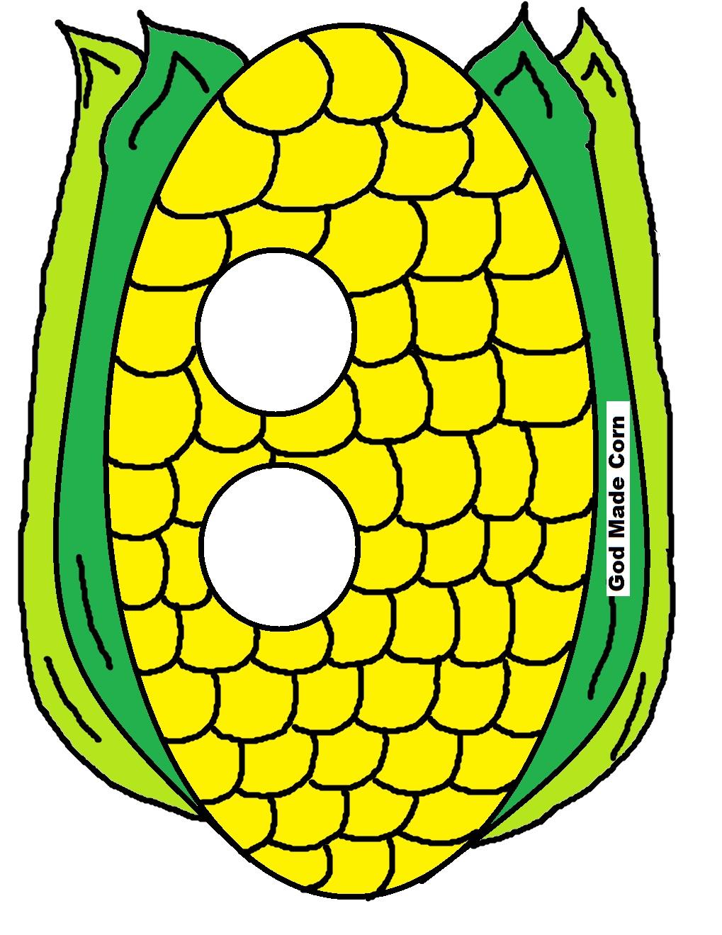 church house collection blog  quot god made corn quot  face mask Cornhole Bag Clip Art Basketball Clip Art