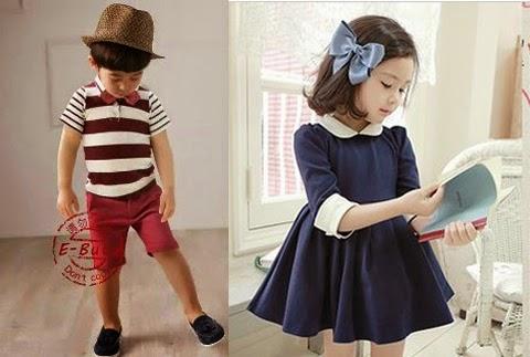 contoh baju anak gaul