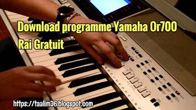 Télécharger Programme Rai Yamaha OR700 Original Gratuit