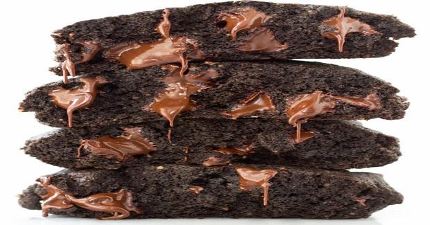 Buckwheat Double Dark Chocolate Brownie Cookies Recipe