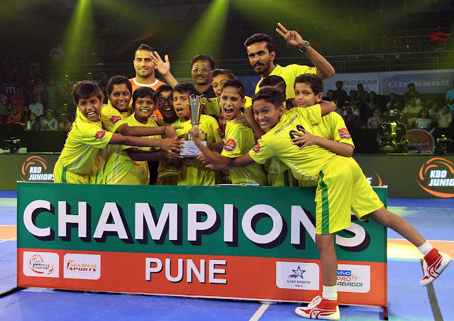 Vidya Niketan School lift the trophy as Champions of KBD Juniors Pune; Assert domination in the final match against The Bishops School