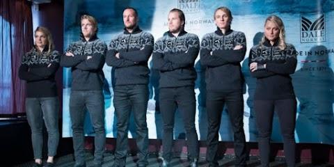 Náci botrány a norvég olimpiai küldöttség ruhája körül, ősi viking rúhák miatt
