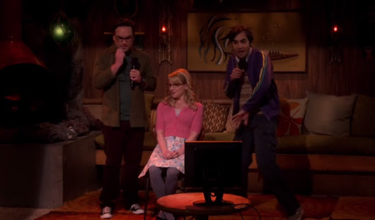 The Big Bang Theory 9x16 - The Positive Negative Reaction