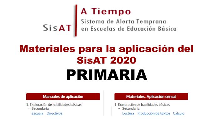 Materiales para la aplicación del SisAT 2020 en Primaria