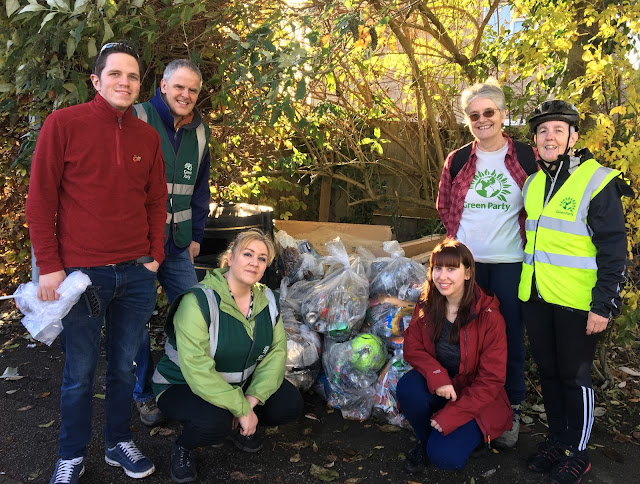 Green Party litter pick group