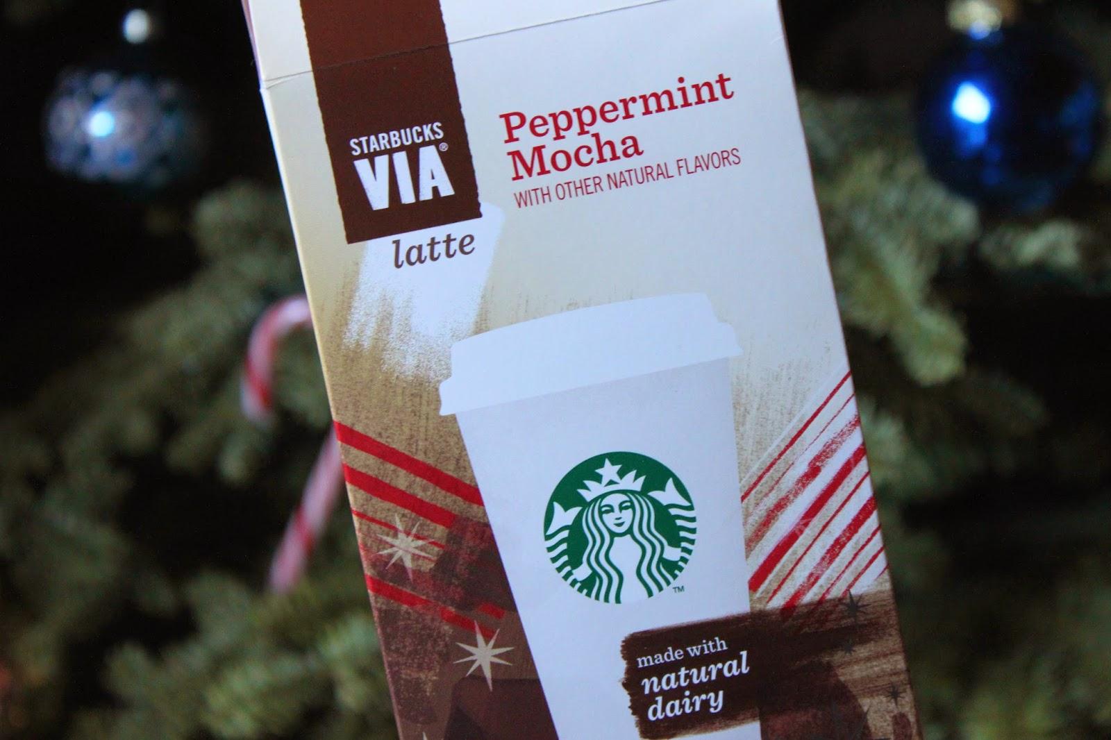 Review Starbucks Via Peppermint Mocha Latte