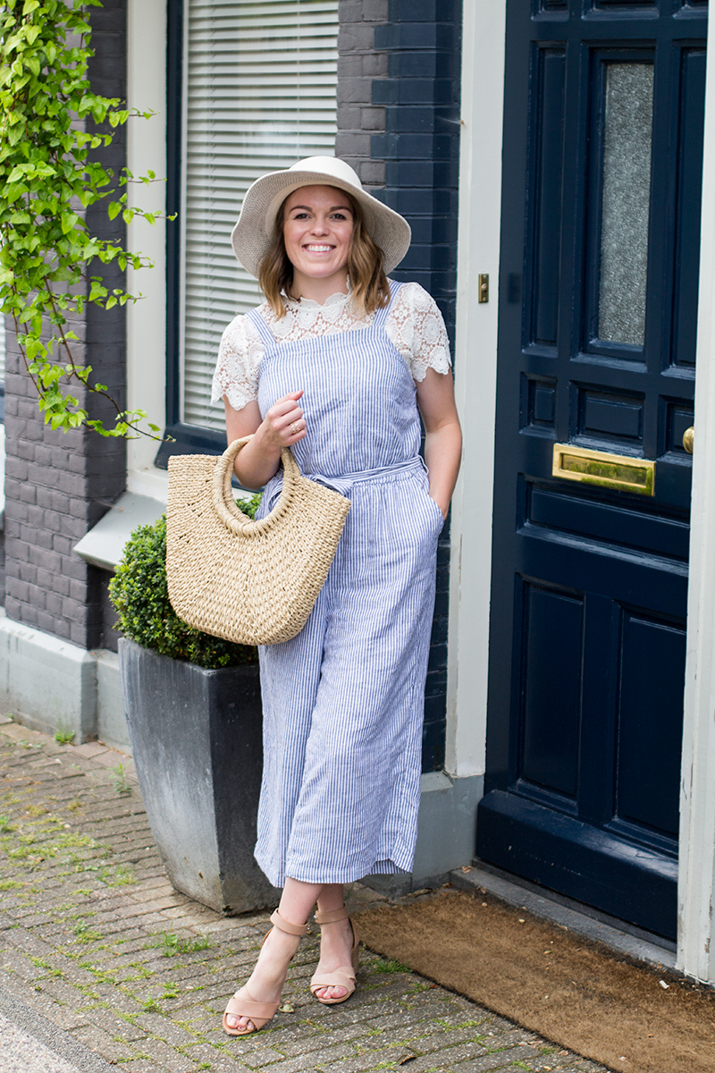 Striped Jumpsuit In Amsterdam Tay Meets World
