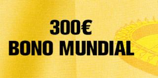 interwetten Asegúrate 300 euros bono 18-20 enero