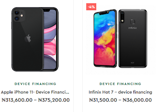 9mobile device financing