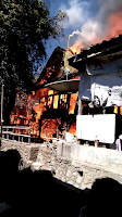 Kebakaran di Nggarorangga Desa Kole Dua Unit Rumah Ludes
