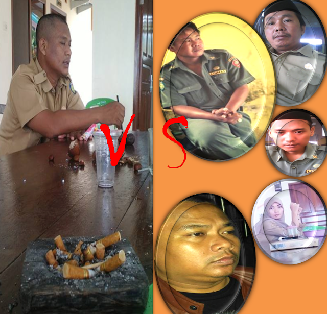 Sejarah Perseteruan Kuwu Desa Bangkaloa Ilir Vs Para Pamong Desanya 2015-2016