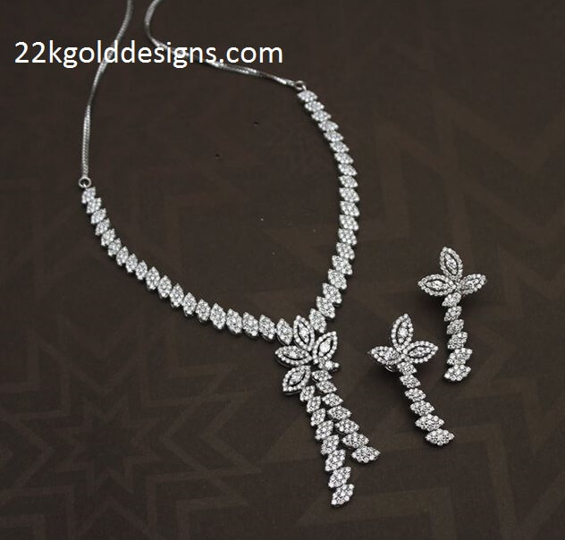 Modern Jewelry Design Ideas: Modern Indian Diamond Necklace Designs