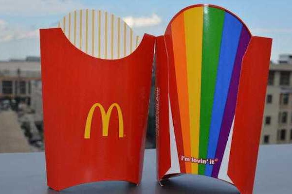 support gays mcdonalds Does