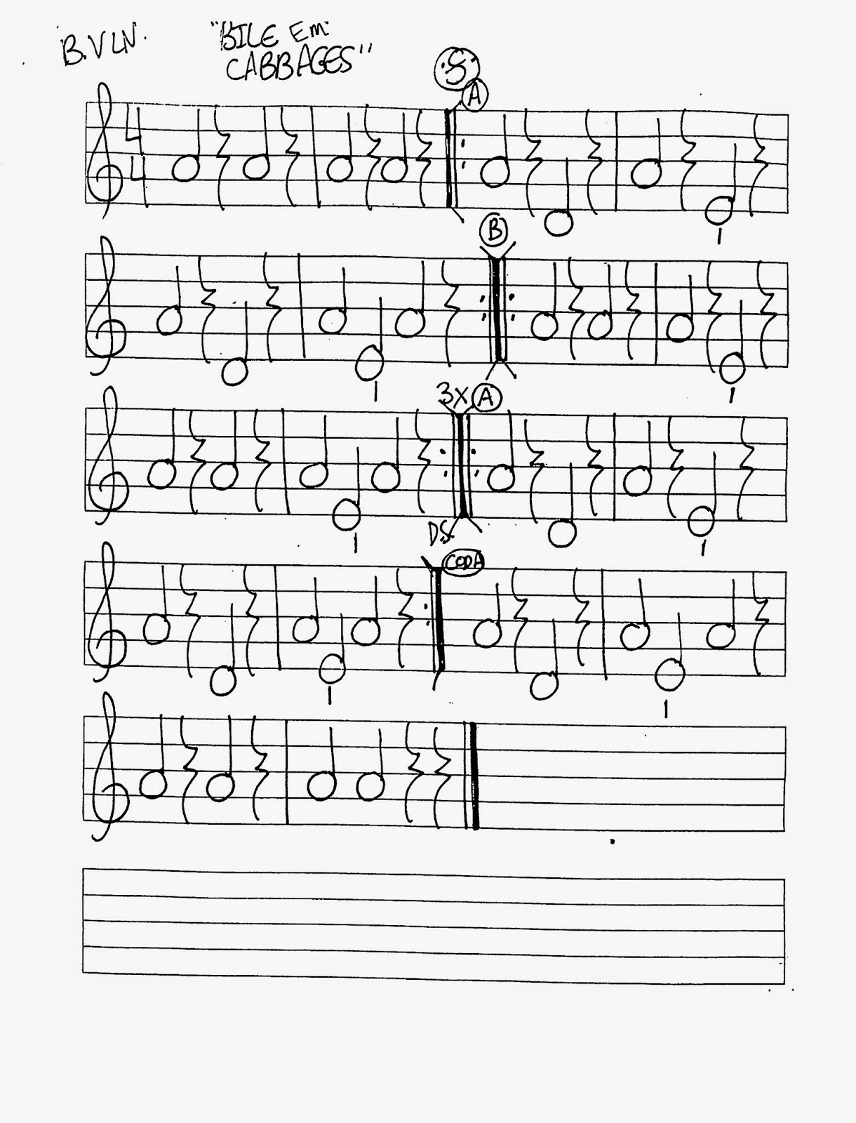 Miss Jacobson's Music: BILE CABBAGES WORKSHEETS FOR