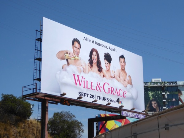Will Grace revival season 9 billboard
