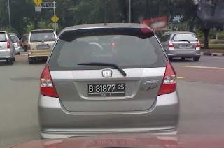 Mari Mengenal Warna Plat Nomor Kendaraan