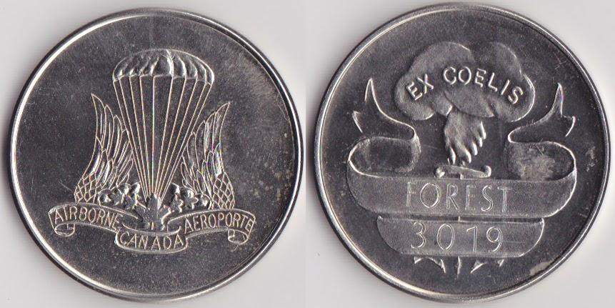 Jean Pierre J P Forest Cpp Jp S Souvenir Challenge Coins