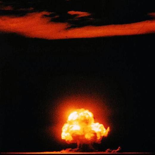 Energie et developpement - Trinity, premier essai nucléaire de n'histoire dans le cadre du projet Manhattan