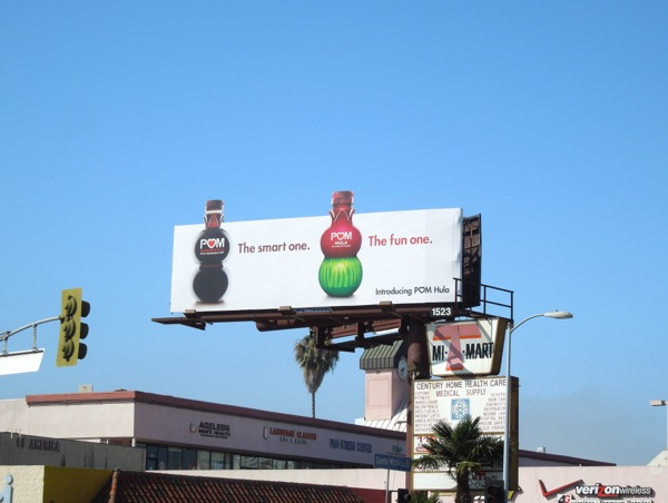 Pom Hula extension billboard