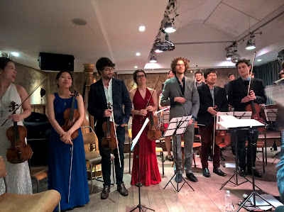 William Kunhardt and the Arensky Chamber Orchestra at the Oak Room in the Hospital Club