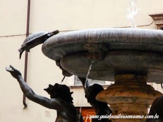 guia De roma portugues fonte tartarugas - A Fonte das Tartarugas