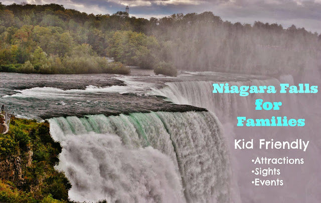 See everything that Niagara Falls USA has to offer families. Includes kid friendly events and attractions. #familytravel #travel