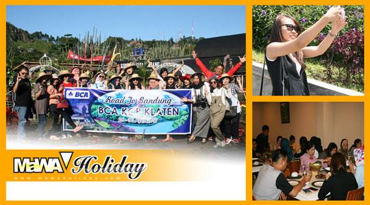 Foto wisata bandung BCA KCP KLATEN