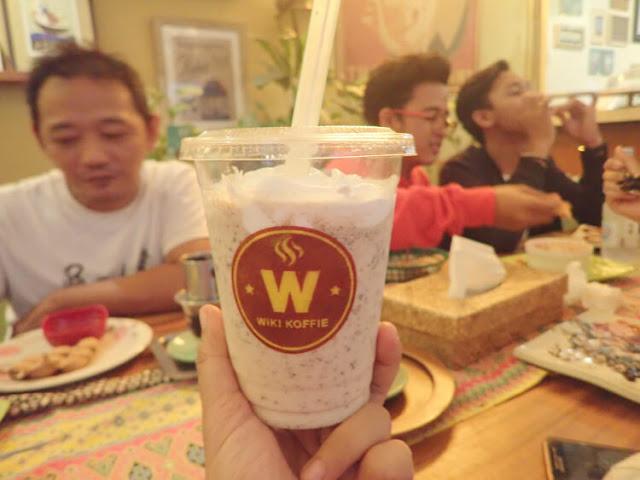 milkshake cream caramel