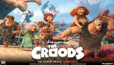 The Croods - The world's very first prehistoric family goes on a road trip to an uncharted and fantastical world.