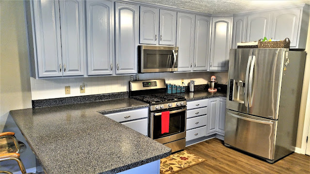 Kitchen Cabinet Refinishing2
