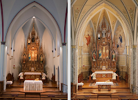 Before and After: St. Columban Church in Chillicothe, Missouri