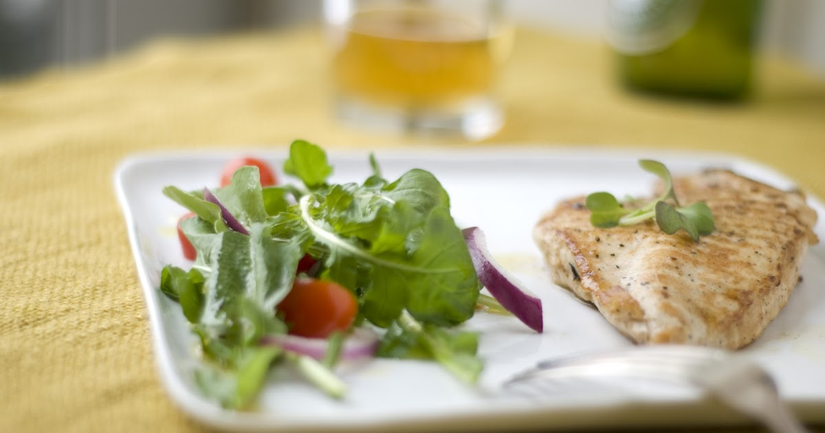 Grilled Chicken Paillard With Arugula Salad A Suburban Kitchen