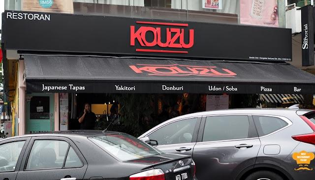 Bangsar Food: KOUZU Bangsar