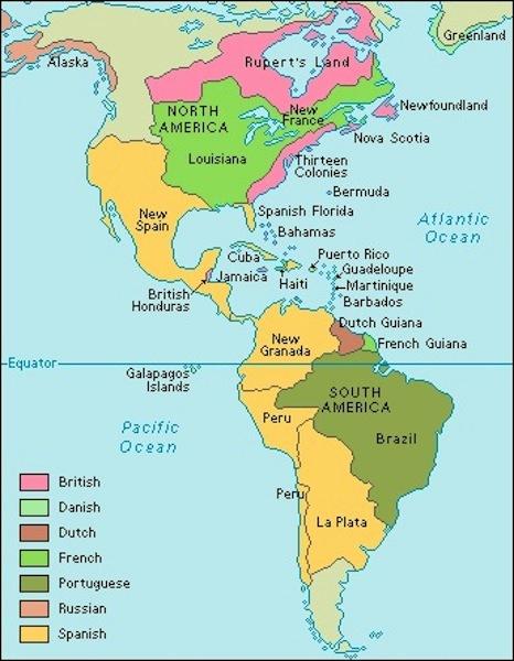 Letak Benua Amerika : letak, benua, amerika, Letak, Geografi, Benua, Amerika