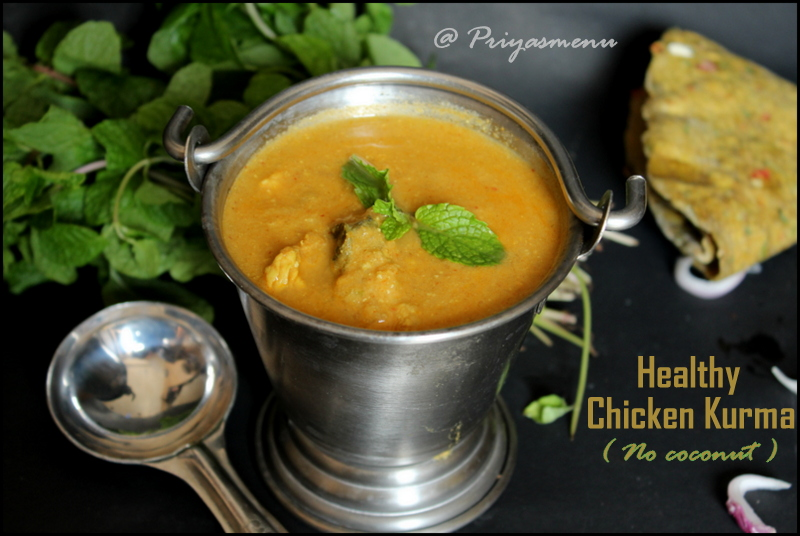 Healthy Chicken Kurma
