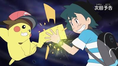 Pokemon Sol y Luna Capitulo 54 Temporada 20 Brilla Superpulsera Z, un súper potente rayo de 10.000.000 voltios