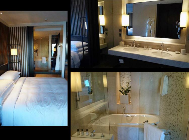 Park Hyatt Sydney bedroom and bathroom, Australia, Euriental