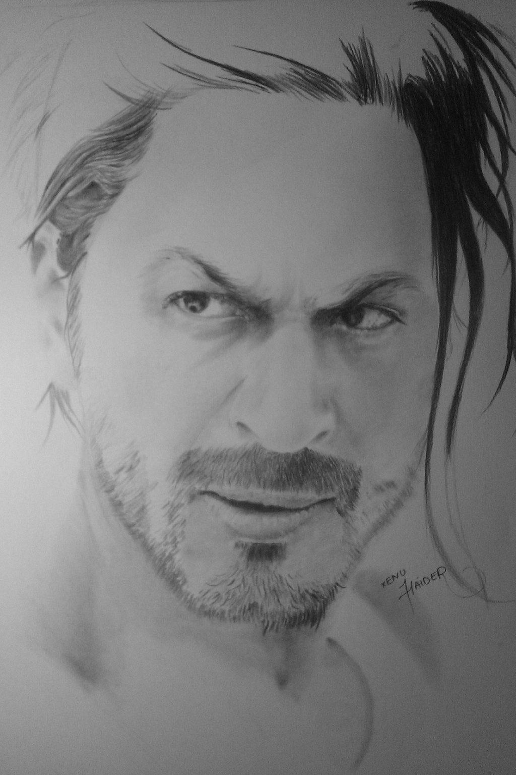 Shah rukh khan pencil drawings pencil drawings